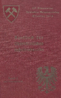 Handbuch des Oberschlesischen Industriebezirks : als Band II der Festschrift zum XII. Allgemeinen Deutschen Bergmannstage in Breslau 1913 : Hierzu Karten-Anlagen I-VIII