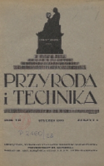 Przyroda i Technika, R. 7, Z. 1
