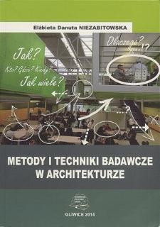 Metody i techniki badawcze w architekturze