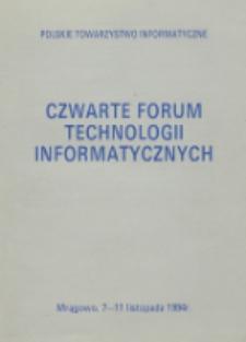 Czwarte Forum Technologii Informatycznych, Mrągowo, 7-11 listopada 1994