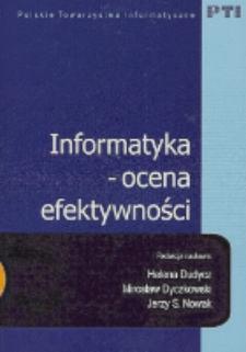 Informatyka - ocena efektywności