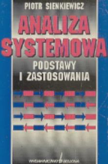 Analiza systemowa : podstawy i zastosowania