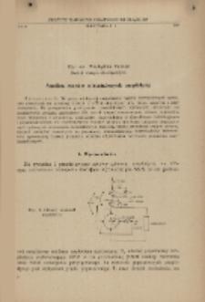 Analiza stanów nieustalonych amplidyny