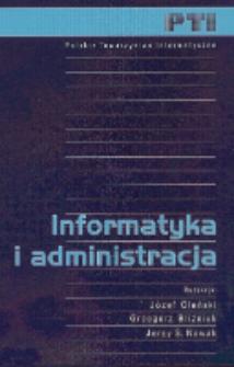 Informatyka i administracja