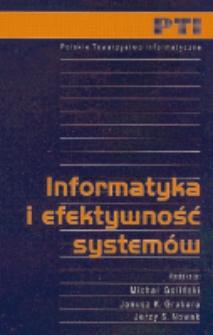Informatyka i efektywność systemów