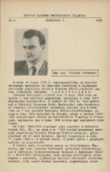 Mgr inż. Czesław Ostrowski