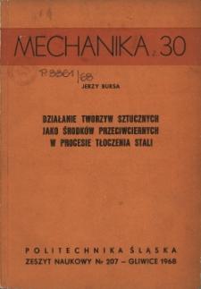 Działanie tworzyw sztucznych jako środków przeciwciernych w procesie tłoczenia stali
