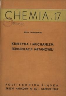 Kinetyka i mechanizm fermentacji metanowej