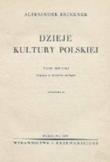 Dzieje kultury polskiej. Polska u szczytu potęgi. Tom 2