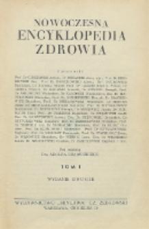 Nowoczesna encyklopedia zdrowia. Tom 1