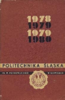 Politechnika Śląska im. Wincentego Pstrowskiego w Gliwicach 1978/79-1979/80