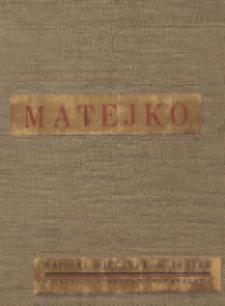 Matejko : osobowość artysty, twórczość, forma i styl