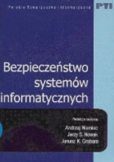Bezpieczeństwo systemów informatycznych