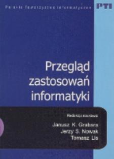 Przegląd zastosowań informatyki
