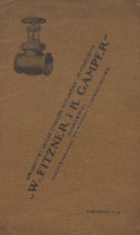 Katalog uzbrojeń normalnych (armatury) dla kotłów parowych i przewodów rurowych o wysokiem i niskiem ciśnieniu