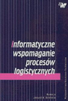 Informatyczne wspomaganie procesów logistycznych