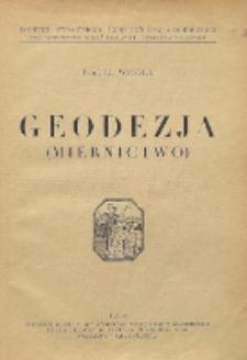 Geodezja (miernictwo)