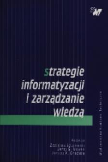 Strategie informatyzacji i zarządzanie wiedzą