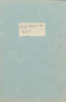 Dokumentacja techniczno - ruchowa MERA 400. Tom IV. Część 8. Część 9