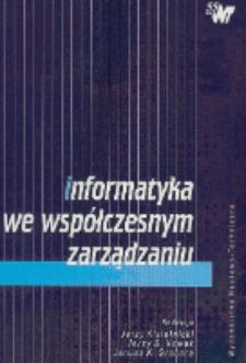 Informatyka we współczesnym zarządzaniu