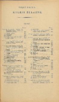Podręcznik inżynierski w zakresie inżynierji lądowej i wodnej. T. 1, Cz. 2, Koleje żelazne