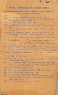 Podręcznik inżynierski w zakresie inżynierji lądowej i wodnej. T. 1, Wykaz ważniejszych omyłek druku