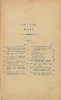 Podręcznik inżynierski w zakresie inżynierji lądowej i wodnej. T. 2, Cz. 5, Mosty