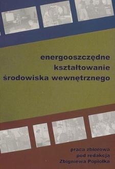 Energooszczędne kształtowanie środowiska wewnętrznego