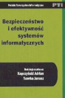Bezpieczeństwo i efektywność systemów informatycznych