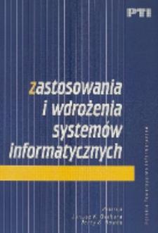 Zastosowania i wdrożenia systemów informatycznych
