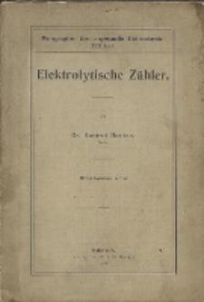 Elektrolytische Zähler