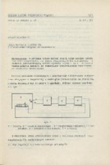 Układ regulacji temperatury z tyrystorowym urządzeniem wykonawczym