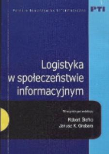 Logistyka w społeczeństwie informacyjnym