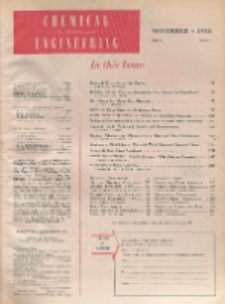 Chemical & Metallurgical Engineering, Vol. 51, No. 11
