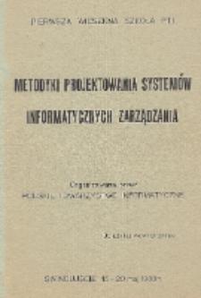 Metodyki projektowania systemów informatycznych zarządzania