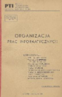 Organizacja prac informatycznych
