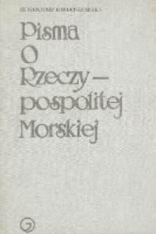 Pisma o Rzeczypospolitej Morskiej