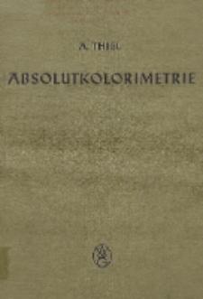 Absolutkolorimetrie