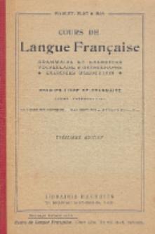 Cours de langue française : grammaire et exercices vocabulaire, orthographe, exercices d'élocution : enseignement primaire : cours préparatoire : 40 leçons sur exemples, 300 exercices, 40 sujets d'élocution