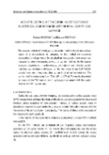 Acoustelectric method for investigation of electrical carrier mobility of real GaP:Te (110) surface