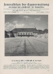 Zentralblatt der Bauverwaltung vereinigt mit Zeitschrift für Bauwesen : mit Nachrichten der Reichs- und Staatsbehörden. Jg. 58, H. 35
