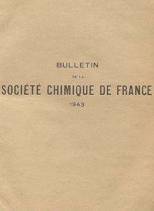 Bulletin de la Société Chimique de France. Mémoires, 5 série, T. 7, Table analytique des matiéres