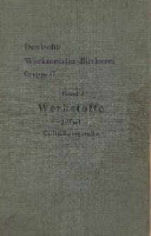 Die Werkstoffe. T. 2, Nichteisenmetalle und Nichtmetalle