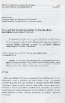 """Działalność proekologiczna na przykładzie Elektrowni """"Bełchatów"""" S.A."""