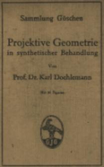 Projektive Geometrie in synthetischer Behandlung : mit 91 Figuren