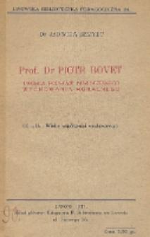 Prof. Dr. Piotr Bovet - twórcza podstawa nowoczesnego wychowania moralnego