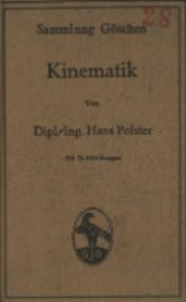 Kinematik : mit 76 Abbildungen