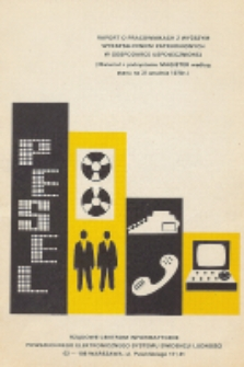 Raport o pracownikach z wyższym wykształceniem zatrudnionych w gospodarce uspołecznionej : Materiał z podsystemu Magister według stanu na 31 grudnia 1978r.