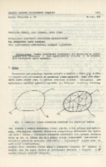 Wyznaczanie niektórych wskaźników mechanicznych dla sprężystej płyty płaskiej przy zastosowaniu równoważnego schematu siatkowego