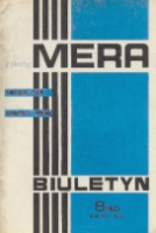 MERA : biuletyn przemysłu komputerowych systemów automatyzacji i pomiarów, R. 14, Nr 8 (162)